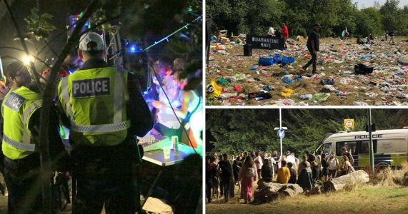Illegal rave 'hotspots' to be patrolled as organisers warned of £10,000 fines
