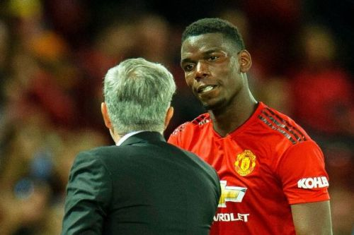 Paul Pogba and Jose Mourinho's bust-up rubbished by Manchester United following Barcelona rumours