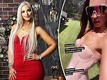 Married At First Sight's Elizabeth Sobinoff reveals her extremely slender frame in a tight dress