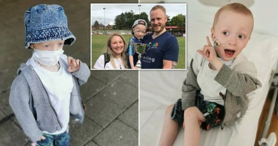 Four-year-old boy with rare form of cancer survives coronavirus