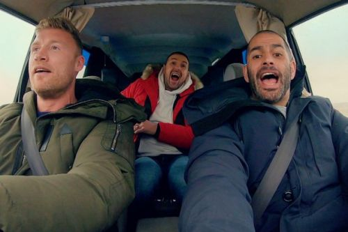 Top Gear trailer FIRST LOOK as Freddie Flintoff and Paddy McGuinness make raucous debut