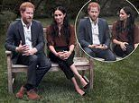 'Uncomfortable' Prince Harry seemed 'tense' when he spoke about the US election with Meghan Markle