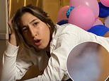 YouTuber Paige Ginn strips from the waist down for FARTING gender reveal