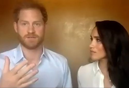 Harry tells call with Meghan 'we must acknowledge past' to fight racism