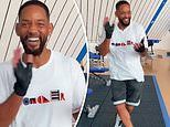 Will Smith breaks into 'hoedown' country dance. days after vowing to lose 'pandemic weight'