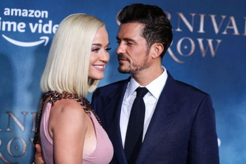 Orlando Bloom's Wobbly Phone Video Of Katy Perry's Explosive Inauguration Performance Is So Pure We Could Cry