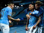 Man City 2-1 Real Madrid: Silky Citizens keep Champions League hopes alive following Varane disasterclass
