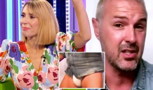 Alex Jones speechless as Paddy McGuinness storms off The One Show in underpants