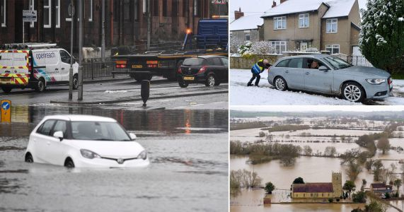 Residents trapped by floodwater as more rain hits sodden communities