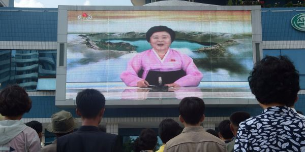 North Korean state media's most famous announcer is a 74-year-old grandmother who Trump said should be on US cable new