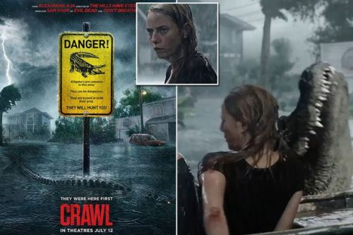 Crawl exclusive clip shows scary fight for survival in Kaya Scodelario horror