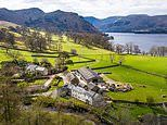 Country estate with its own farm, tea rooms and posh camping business goes on the market for £2.25m