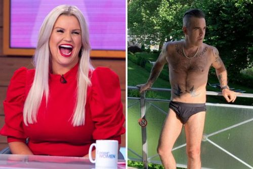 Kerry Katona says she almost slept with Robbie Williams