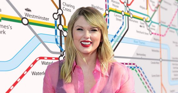 Someone has worked out Taylor Swift's London Boy tube commute and it would take her over five hours