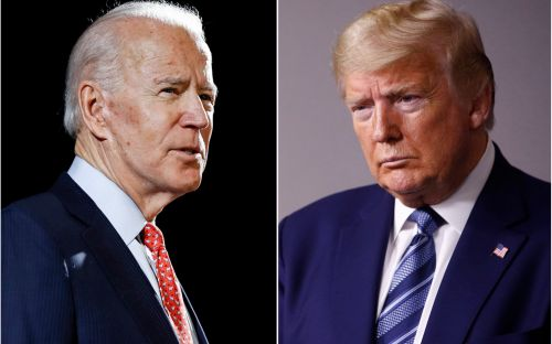 US election debates schedule: What time are Donald Trump and Joe Biden going head-to-head tonight?