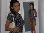 Madison Beer looks fierce in Fendi as she gets all dolled up in quarantine for Instagram snapshots