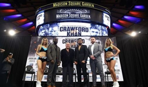 Khan vs Crawford start time: When will Amir Khan vs Terence Crawford start?