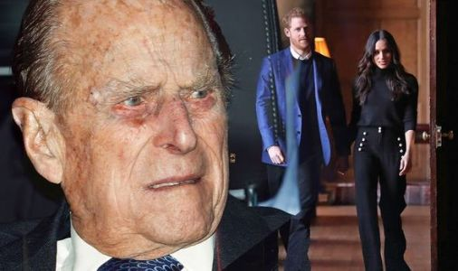 'He takes no s**t!' Royal fans praise Prince Philip for walking away from Meghan and Harry