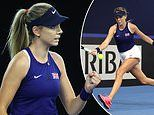 Katie Boulter keeps her cool through three-hour delay in Billie Jean King Cup to beat Giuliana Olmos