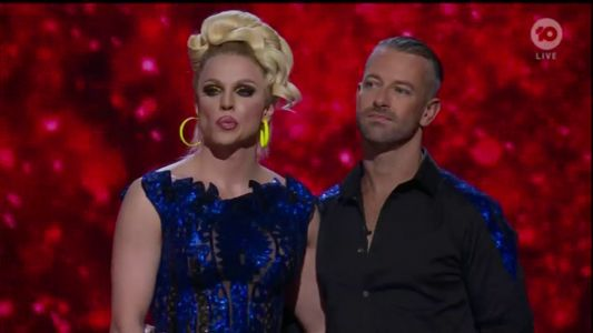 Courtney Act loses out on Dancing With The Stars crown and people are mad