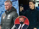 Gary Neville blasts Manchester United for being left behind by rivals in the transfer market