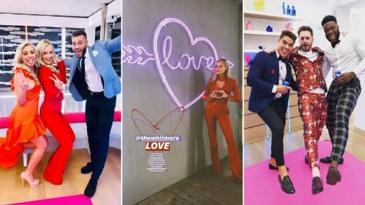 Inside the Love Island after-party: Iain Stirling and Laura Whitmore celebrate in style after Paige and Finn win