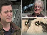Matt Baker's mum bursts into tears after being knocked over by sheep