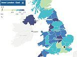 Interactive maps shows London has borne the brunt of Covid jobs cull