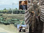 Russian forces mass on Ukraine border as Western leaders fear Putin's move could trigger all-out war