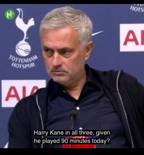 """: """"I don't think I can"""" - Mourinho admits Carabao Cup sacrifice with Europa more important"""