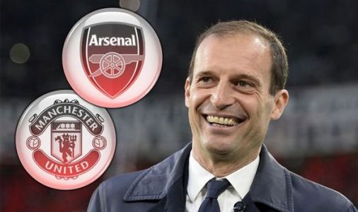 Max Allegri drops hint about taking Arsenal or Man Utd job but sets time frame for role