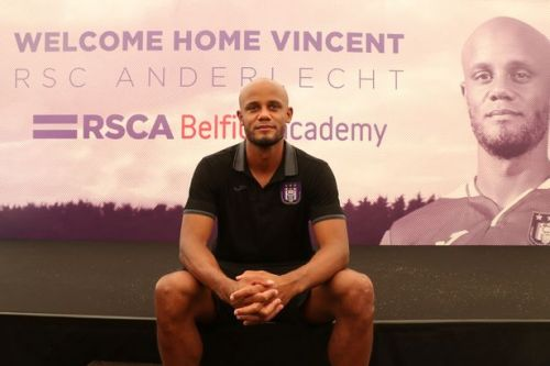 Vincent Kompany makes Anderlecht vow as Man City legend begins his new chapter