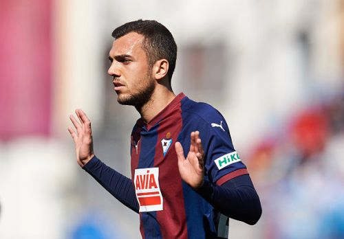 Arsenal submit enquiry for €15m-rated Eibar playmaker Joan Jordan