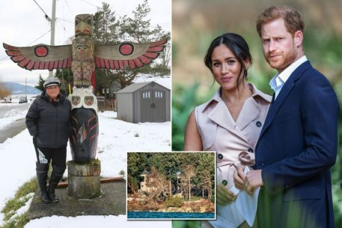 Meghan and Harry's new Canada home is 'on land stolen by Brits', says tribe leader