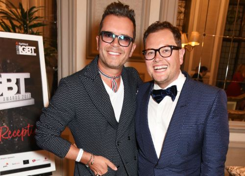 Alan Carr 'so proud' of husband Paul Drayton for steering clear of alcohol in lockdown, but admits it's been 'tough'
