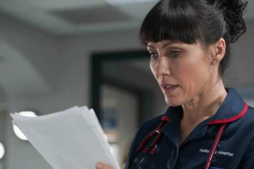 Casualty explores aftermath of Luka's devastating diagnosis