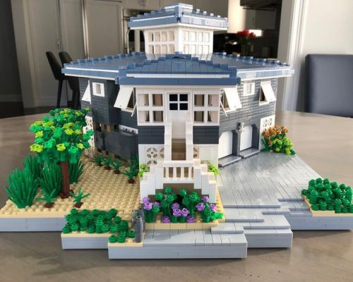 You can now get a Lego replica of your house but it doesn't come cheap