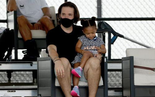 Serena Williams wins comeback match despite distraction of coughing daughter