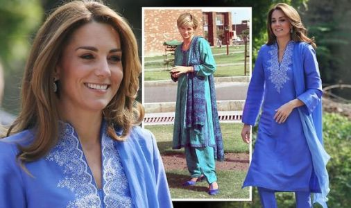 Kate and Prince William tour LIVE: Kate mirrors Princess Diana with TWO identical outfits