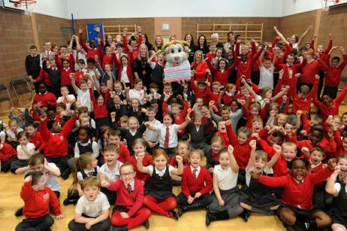 Paisley primary school set to take on Cash for Kids challenge