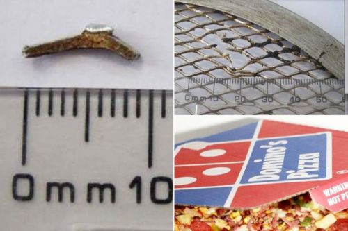Domino's store fined £10,000 after customer finds metal object in their pizza