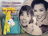Kris Jenner shows off the Kardashian-Jenner clan's luxury Easter baskets gifted by Dee Ocleppo