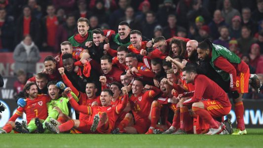 Videos and Twitter reactions: Wales celebrate Euro 2020 qualification