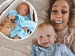 Stacey Solomon shares sweet snap of son Rex, one, sleeping in a DOG BED
