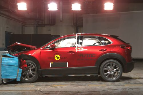 Mazda CX-30 gets best-ever Euro NCAP crash-test rating