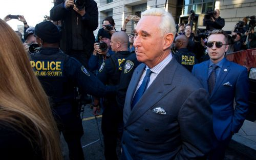 Judge imposes gag order on Trump confidant Roger Stone after judge in crosshairs post