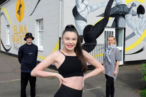 New dance mural is causing a stir in Paisley town centre