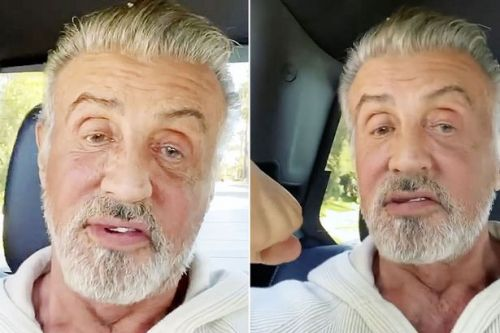 Sylvester Stallone fans gush over 'silver fox' as he unveils his natural grey hair