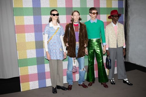 In Pictures: Gucci's New Men's Collection, an Antidote to Toxic Masculinity