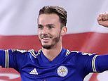 Leicester's James Maddison convinced 'there's a gap' for him in Gareth Southgate's England squad